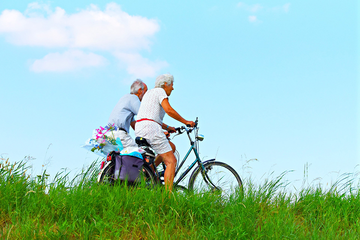 cyclists, Healthy Ageing