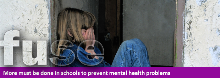 mental health in schools front page